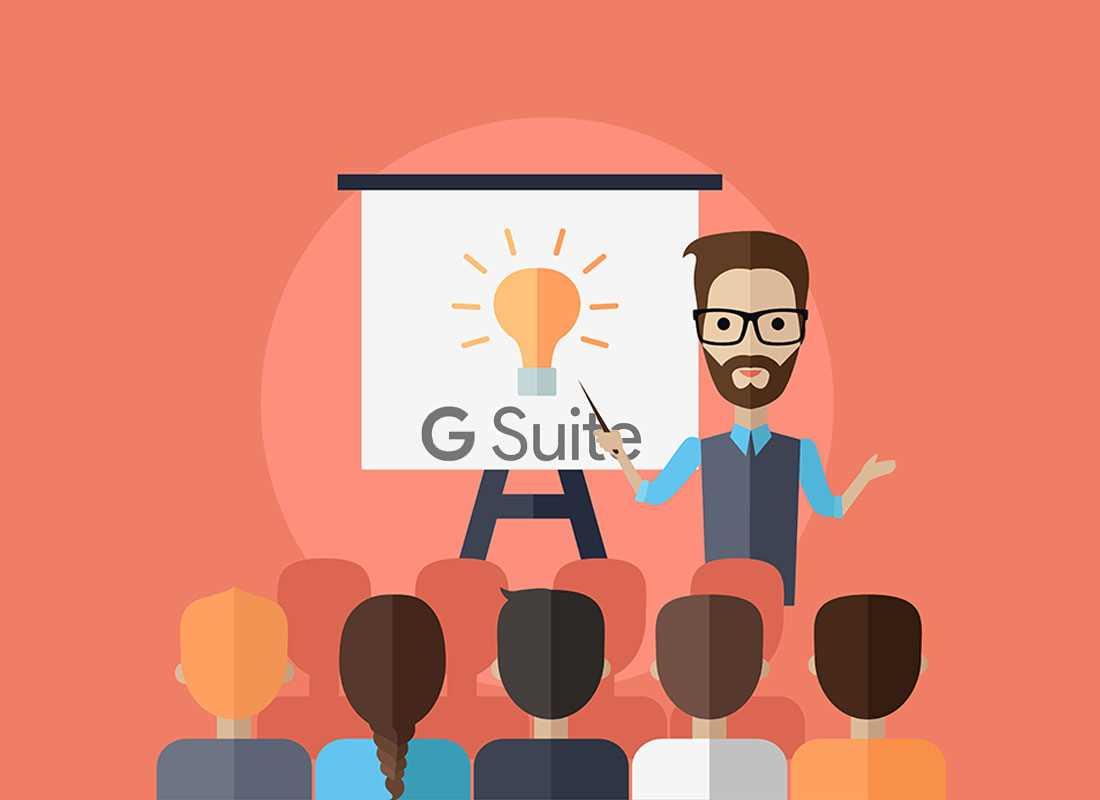 Formation à l'utilisation de G Suite et de ses applications